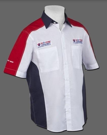 05d54709d Uniforme Profissional Camisa Top 5 Eds - R  85