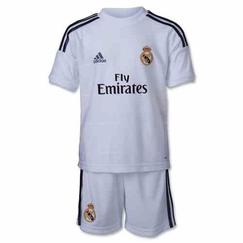 uniforme real madrid 2013-2014 para niño
