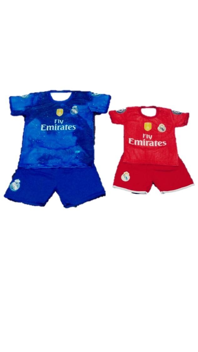 uniforme real madrid infantil conjunto com meião (28-35). Carregando zoom. d039809f595bf