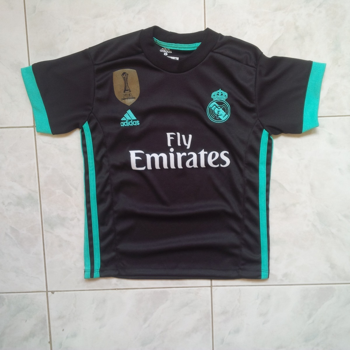 uniforme real madrid local - visitante 2017 2018 niños cr7. Cargando zoom. fa4f81b36035a
