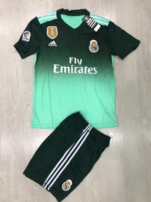 Uniforme Real Madrid Manga Corta