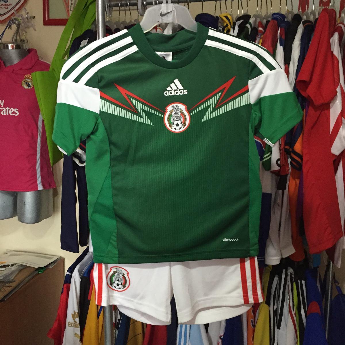 7cd9c9337fe0c Uniforme Selección Mexicana adidas Para Niño -   439.00 en Mercado Libre