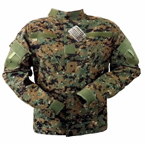 uniforme tactico digital marpat - acu corte americano ripst