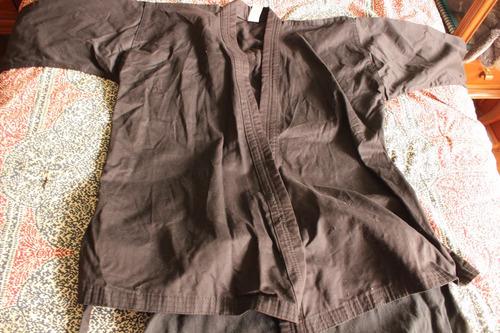 uniforme tae kwon do dobok negro