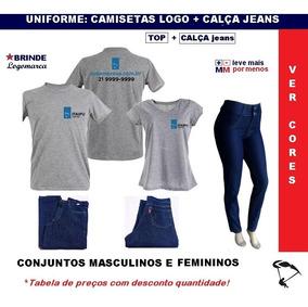 79014285f3 Calca Jeans Masculina Personalizada - Camisetas e Blusas com o Melhores  Preços no Mercado Livre Brasil