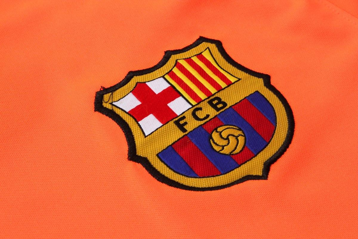 uniforme treino orange barcelona (frete grátis). Carregando zoom. bebccd94d4397