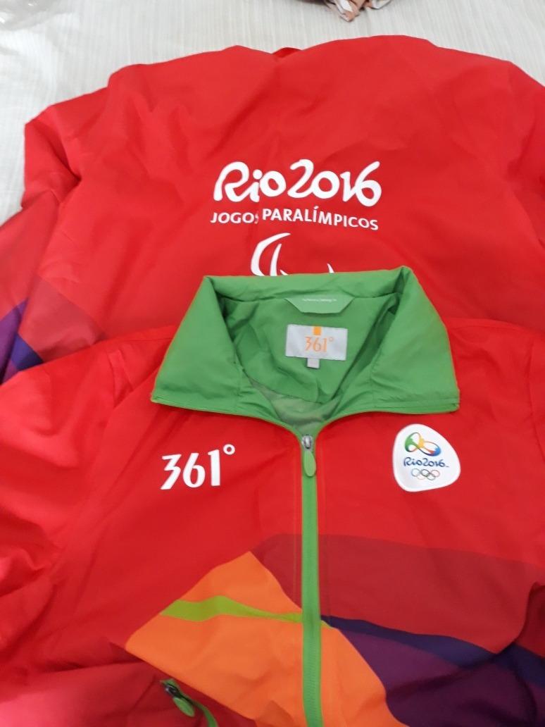 3fc2f631a47d7 Uniforme Vonluntários Equipe De Saúde Olimpíadas Rio 2016 - R  50