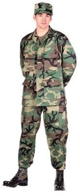 uniforme woodland original - e.a. de verano