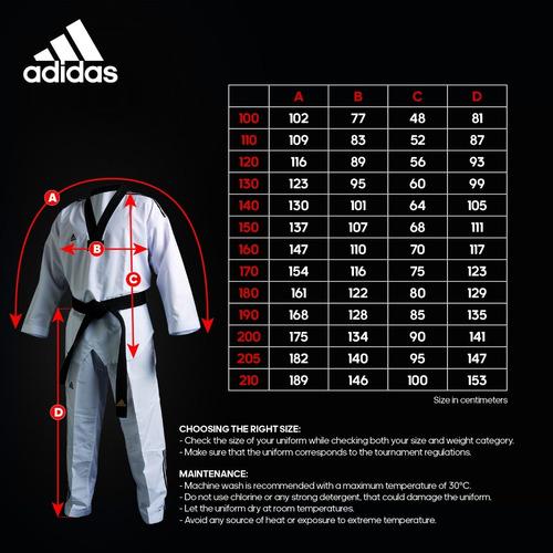 uniformes adidas - dobok adi flex ii clima cool taekwondo