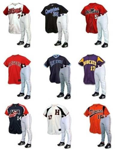 uniformes beisbol completos korzza sports