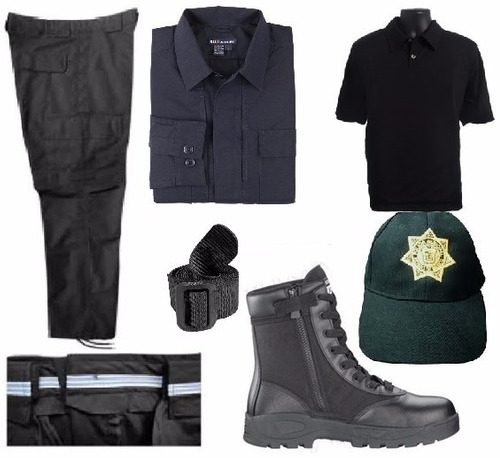 uniformes comando policia con tratami. repelente a liquidos