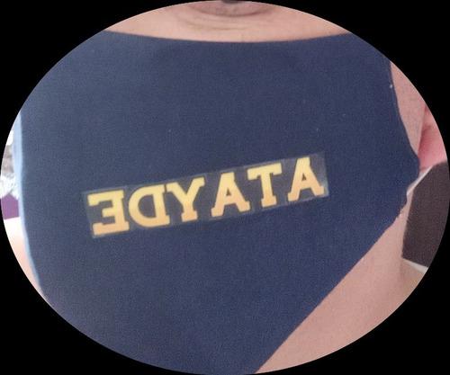 uniformes  completos con t-a-p-a-b-o-c-a-s.