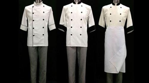uniformes de chef cocineros