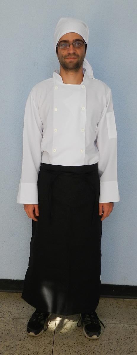 Uniformes de cocina chaqueta de chef pantalon gorros - Uniformes de cocina ...