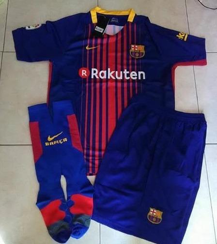 Uniformes De Futbol Economicos Completos Barcelona Japon -   120.00 ... 763ea7c88985f