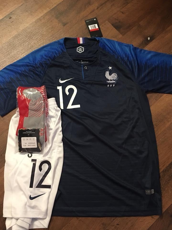 uniformes de futbol economicos completos francia croacia. Cargando zoom. 11673af1f433e