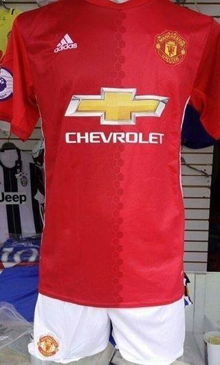 Uniformes De Futbol Economicos Completos Manchester United ... f5b15e5f456e0
