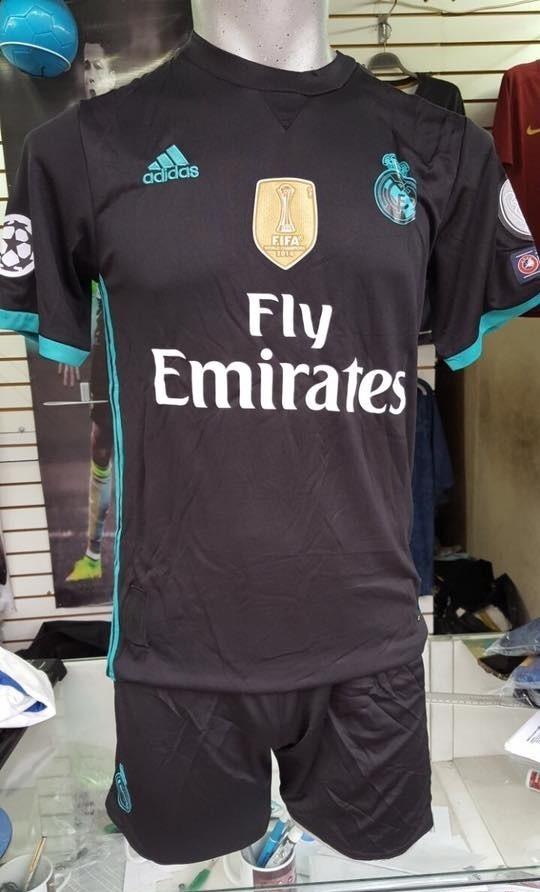 uniformes de futbol economicos completos real madrid azul. Cargando zoom. adef6a7d03ab5