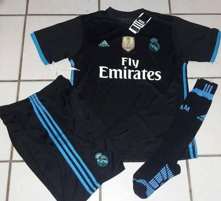 7a6535505f2d2 Uniformes De Futbol Economicos Completos Real Madrid Suecia ...