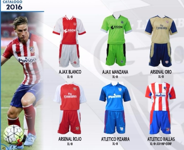 573bb996c42ee Uniformes De Futbol Todos Los Equipos. Marca Gool -   257.00 en ...