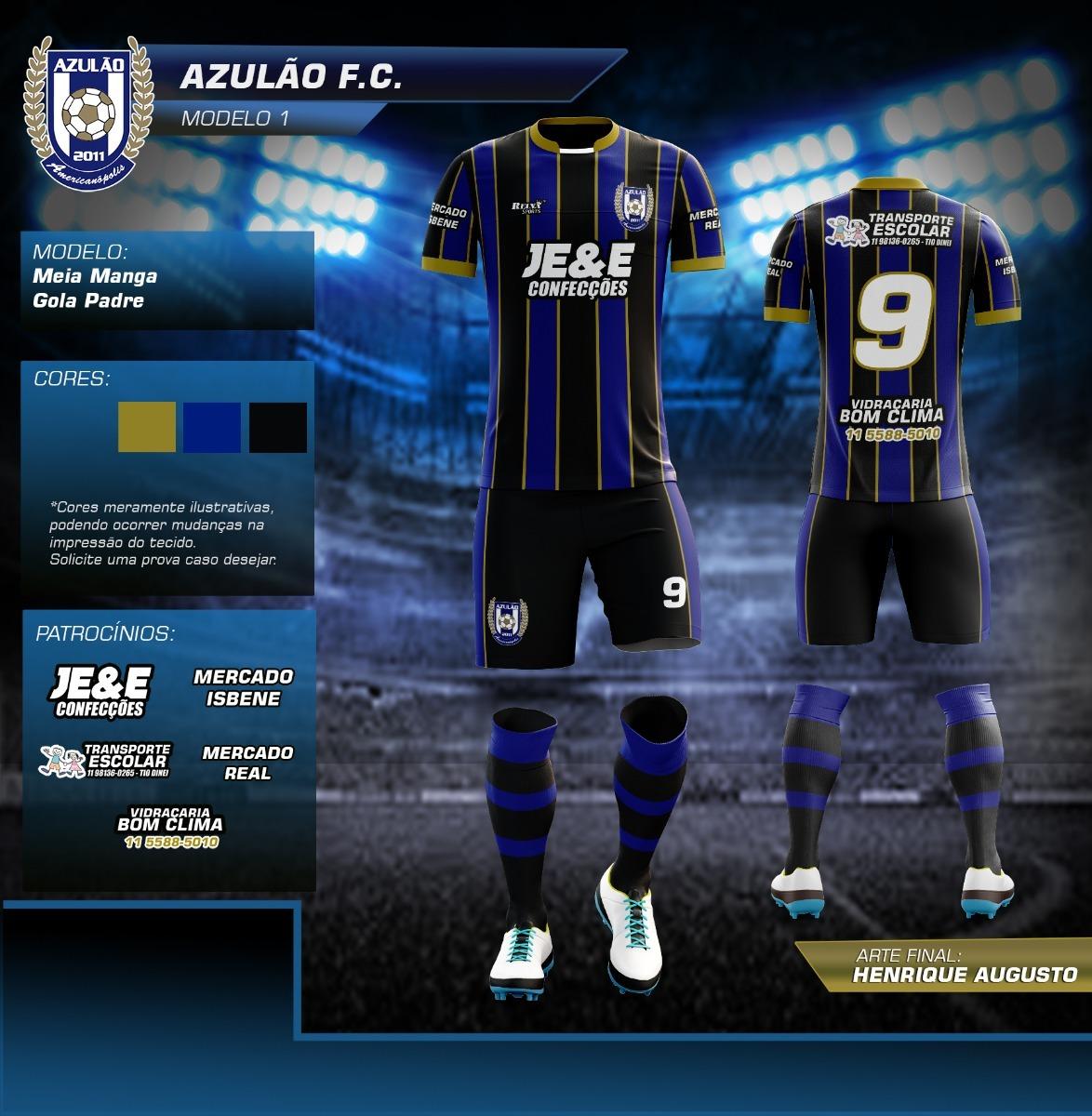 uniformes de futebol personalizados 10 kits. Carregando zoom. c3aeef6cb0b7f