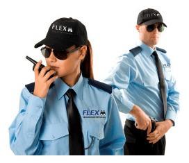 uniformes de guardias de seguridad