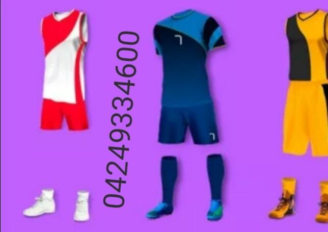 Uniformes Deportivos - Bs. 100 3eb143d037831