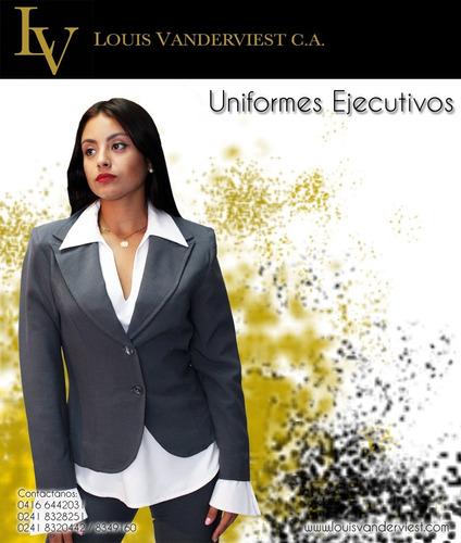 uniformes ejecutivos confecciones louis vanderviest c.a