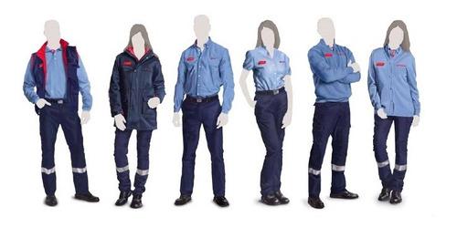 uniformes empresariales chemises jeans camisas columbia