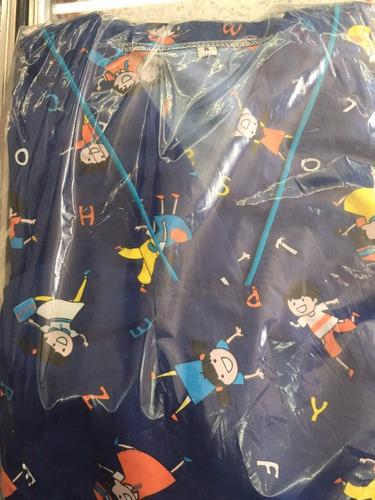 uniformes en antifluido tela marca pat primo