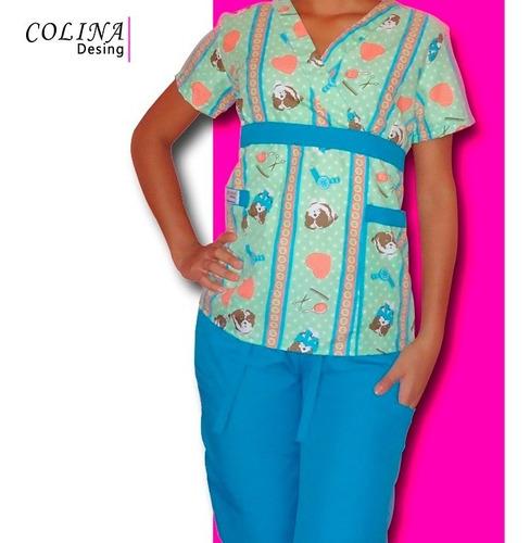 uniformes enfermera medico odontologo, modelo colorado