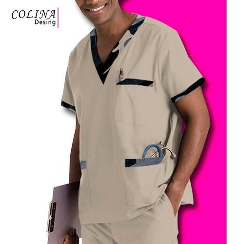 uniformes enfermero medico estampado,para hombres roraima