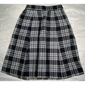 50a6cd1908 Falda Tableada Escolar Escocesa Talla 12 Niña Envio Incluido