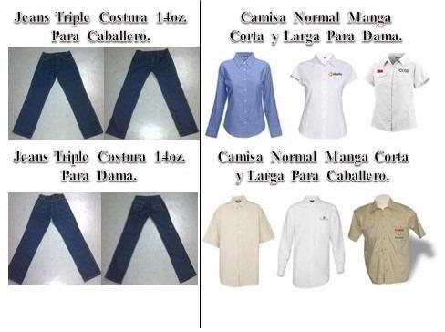 uniformes escolares, industriales, institucionales, casual