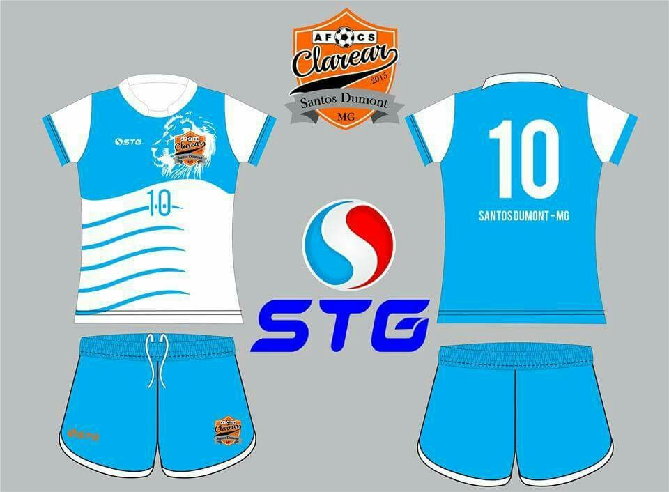 Uniformes Futebol Personalizados Kit Com 10 Conjuntos - R  600 f5193a1d4f299