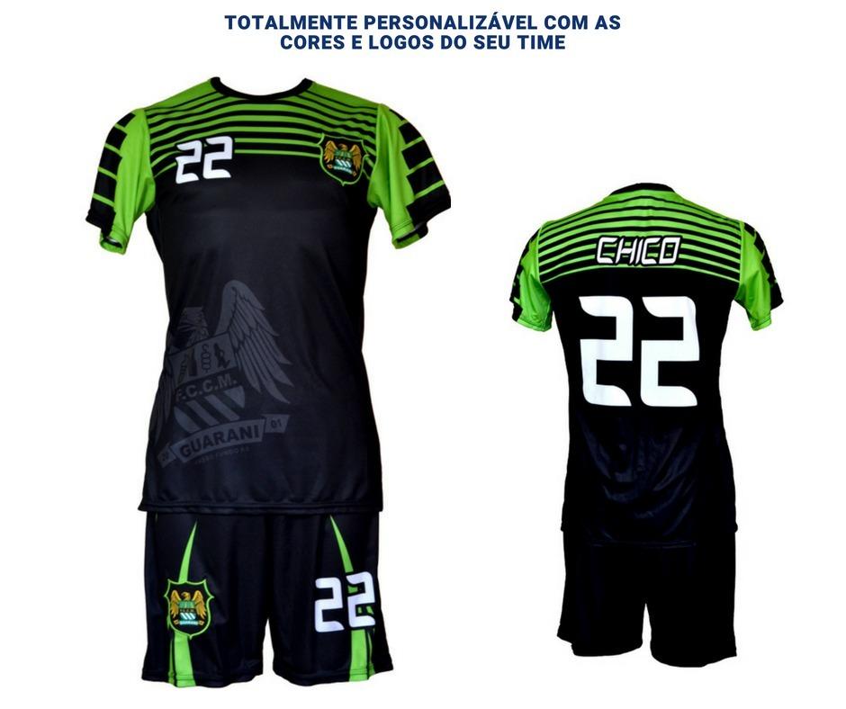 88cdc252e Uniformes Futsal Futebol Salão Personalizado 7 Conjuntos Dry - R ...