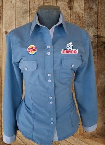 uniformes industriales/ corporativos de jean. ambos sexos
