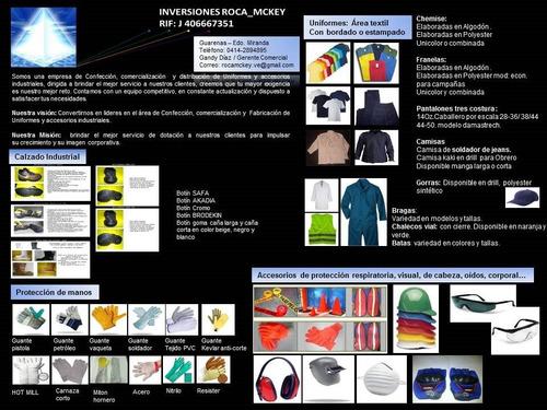 uniformes industriales, oficina, mecanico, escolares