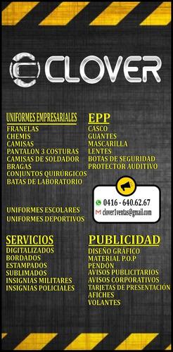 uniformes industriales y equipos de seguridad industrial