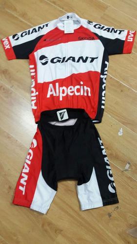 uniformes licra para ciclistas unisex cortos varios diseños.