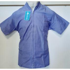 35be13e1153fa Bata Medica Cuello Mao Hombre - Uniformes Médicos en Mercado Libre ...