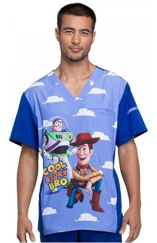 uniformes médicos disney