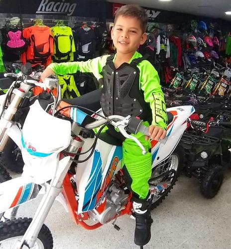 uniformes y proteccion para bicicross y motocross