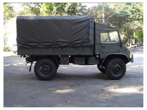 unimog 404s militar - unico dono no brasil