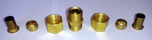 união latão emenda tubo cobre tecalon ar comprimido 1/2
