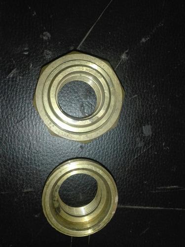 union universal de bronce 1 pulgada