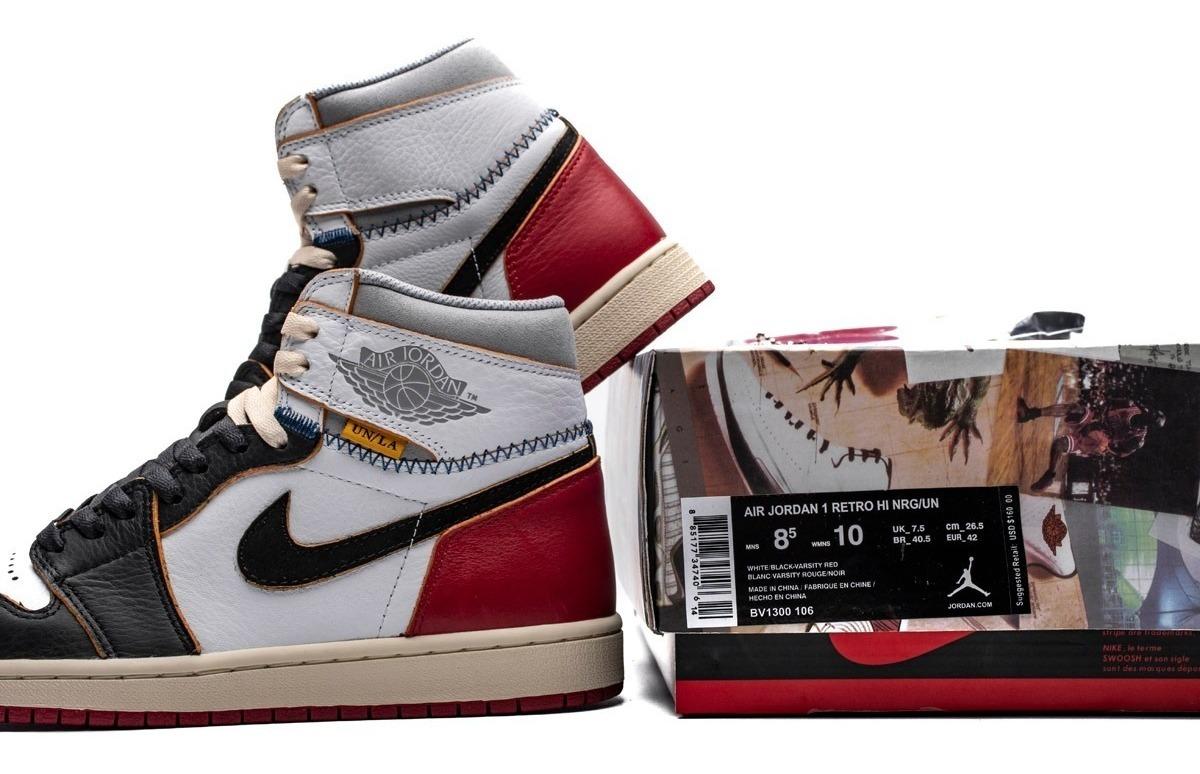 get cheap e2a19 17a70 Union X Air Jordan 1 Retro High Og Nrg