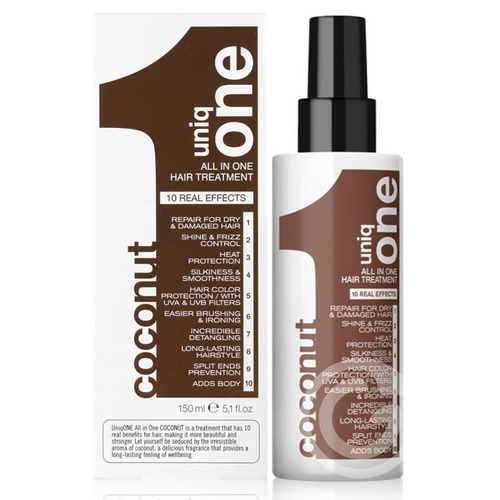 uniq one coconut hair treatment 150 ml - 10 em 1 - revlon
