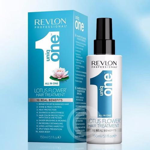 uniq one lotus revlon hair treatment 10 em 1 - 150ml + frete