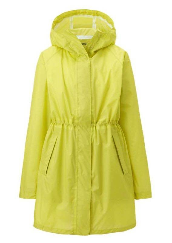 uniqlo parka impermeable amarilla talle s mujer. Cargando zoom. 5bfe258c0a84